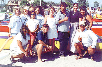 Sacramento's Catalina Crossing CoEd Team 1999